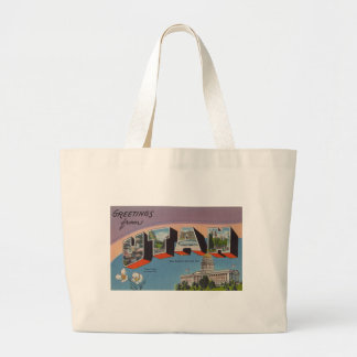 Greetings From Utah Large Tote Bag