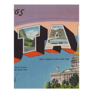 Greetings From Utah Letterhead