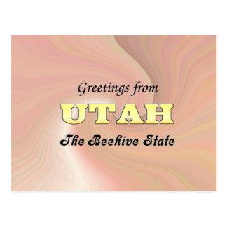 Greetings from Utah Postcard