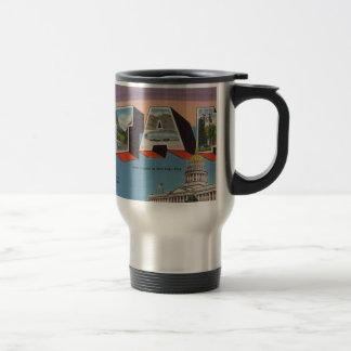 Greetings From Utah Travel Mug