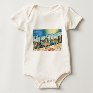 Greetings From Vermont Baby Bodysuit