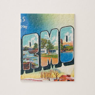 Greetings From Vermont Jigsaw Puzzle