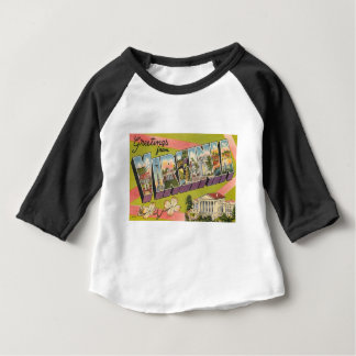 Greetings From Virginia Baby T-Shirt