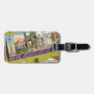 Greetings From Virginia Luggage Tag