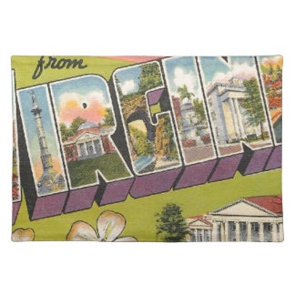 Greetings From Virginia Placemat