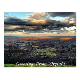 Greetings From Virginia Postcard 6