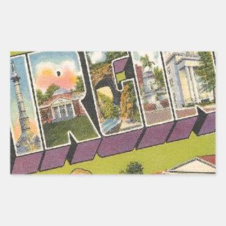 Greetings From Virginia Sticker