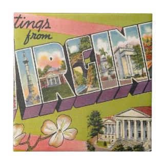 Greetings From Virginia Tile