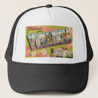 Greetings From Virginia Trucker Hat
