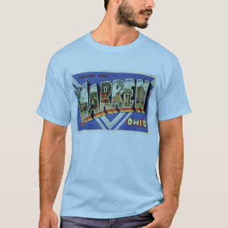 Greetings from Warren Ohio, 1930s vintage T-Shirt
