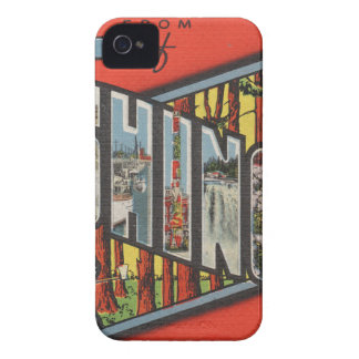 Greetings From Washington Case-Mate iPhone 4 Cases