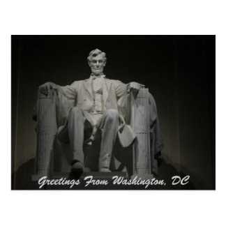 Greetings From Washington, DC Postcard