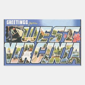 Greetings From West Virginia, Vintage