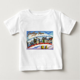 Greetings from Westerly Rhode Island Baby T-Shirt