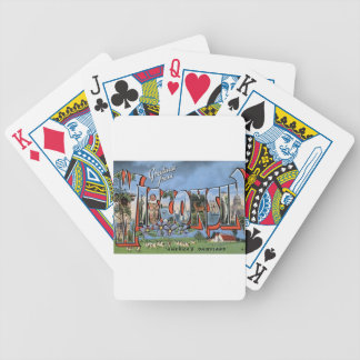 Greetings From Wisconsin Bicycle Playing Cards