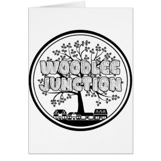 Greetings from Woodlee Junction! Card