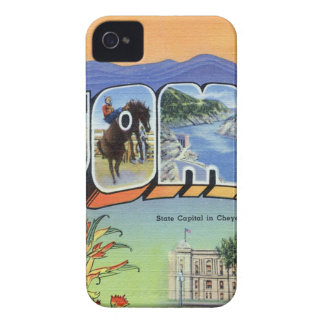 Greetings From Wyoming iPhone 4 Cover
