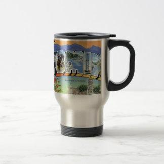 Greetings From Wyoming Travel Mug
