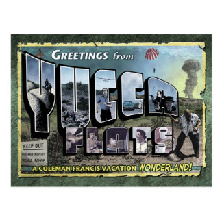 Greetings from Yucca Flats Postcard