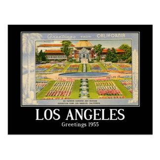 Greetings, Los Angeles, California, 1955, Vintage Postcard