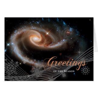 Greetings of the Season - Hubble Space Telescope Card