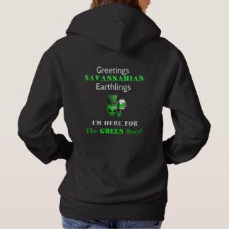 Greetings Savannahian Earthlings! Lady Hoodie