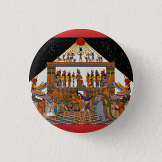 Greetings Tutankhamun 1 Inch Round Button