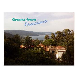 Greetz from Bracciano Postcard