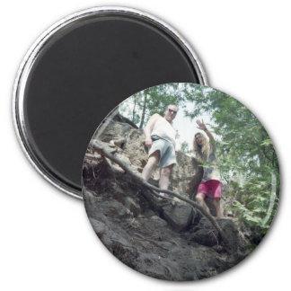 Greg & Dan Gooseberry State Park, MN 2 Inch Round Magnet