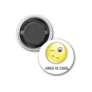 GREG IS COOL MAGNET