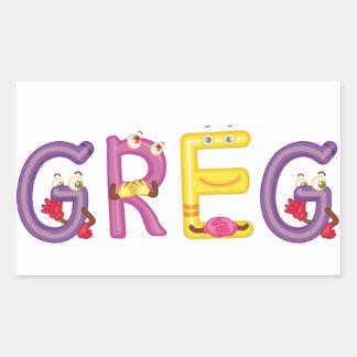 Greg Sticker