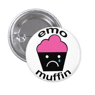 Greg the Emo Muffin 1 Inch Round Button
