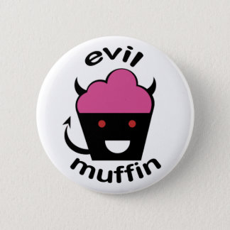 Greg the Evil Muffin 2 Inch Round Button