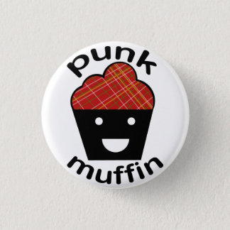 Greg the Punk Muffin 1 Inch Round Button