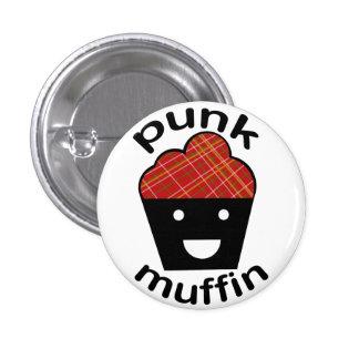 Greg the Punk Muffin 1 Inch Round Button