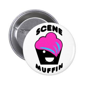 Greg the Scene Muffin 2 Inch Round Button