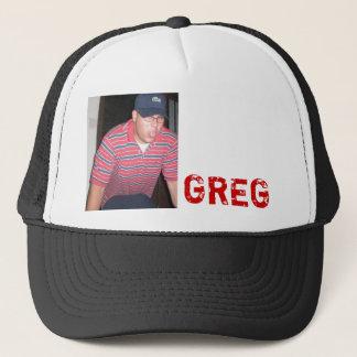 greg trucker hat