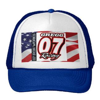 Gregg Racing 07 Iron Works Trucker Hat