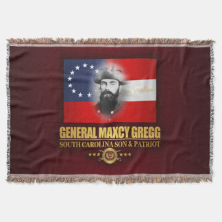 Gregg (Southern Patriot) Throw Blanket