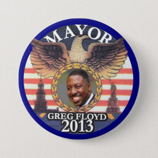 Gregory Floyd for NYC Mayor 2013 3 Inch Round Button