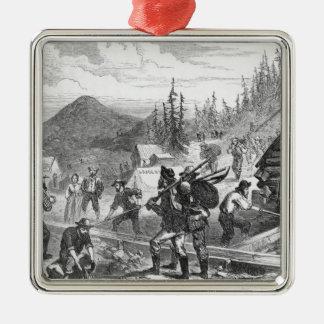 Gregory Gold Diggings, Colorado Metal Ornament