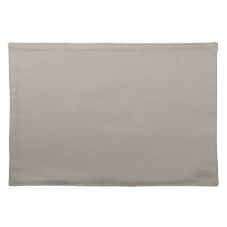 Greige Solid Color Customize It Placemats