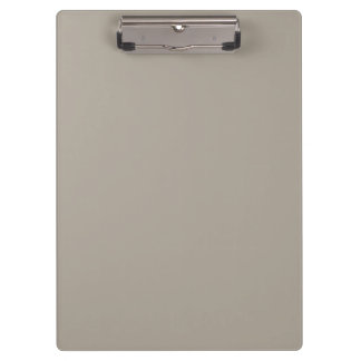 Greige Solid Colour Customize It Clipboard