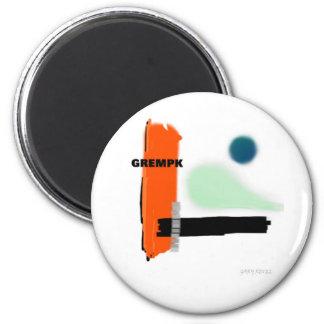 GREMPK Concept Art Gary Revel Magnet