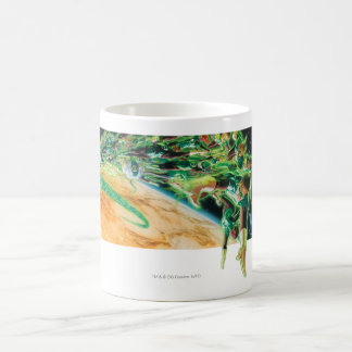 Gren Lanterns Flying in Space Classic White Coffee Mug