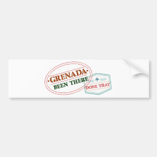 Grenada Been There Done That Bumper Sticker
