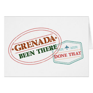 Grenada Been There Done That Card