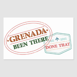 Grenada Been There Done That Sticker