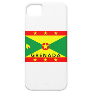 grenada country flag symbol name text iPhone 5 cover