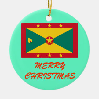 GRENADA* Custom Christmas Ornament